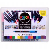 Posca - PC-1MR Ultra Fine Bullet Tip - 16pc Collection Pack Assorted